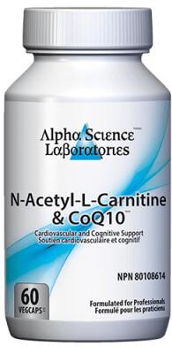 N-Acetyl-L-Carnitine & Q10 by Alpha Science