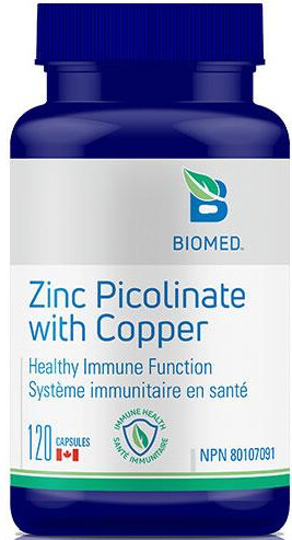 Zinc Picolinate with Copper by Biomed