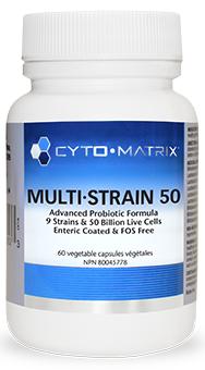 Multi Strain 50 (60 caps) by Cyto-Matrix