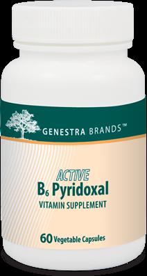 Active B6 Pyridoxal by Genestra