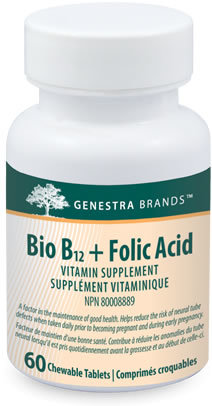 Bio B12+Folic Acid by Genestra