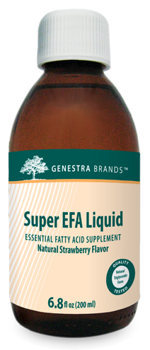 Super EFA Liquid (Strawberry) by Genestra