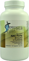 NAC Forte (N-Acetyl L-Cysteine) by Physica Energetics