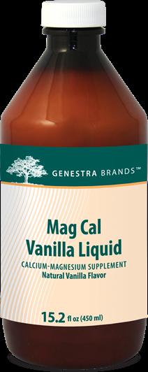 Mag Cal Vanilla Liquid by Genestra