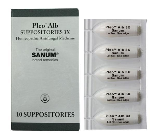 Pleo Alb (Candida) Suppositories