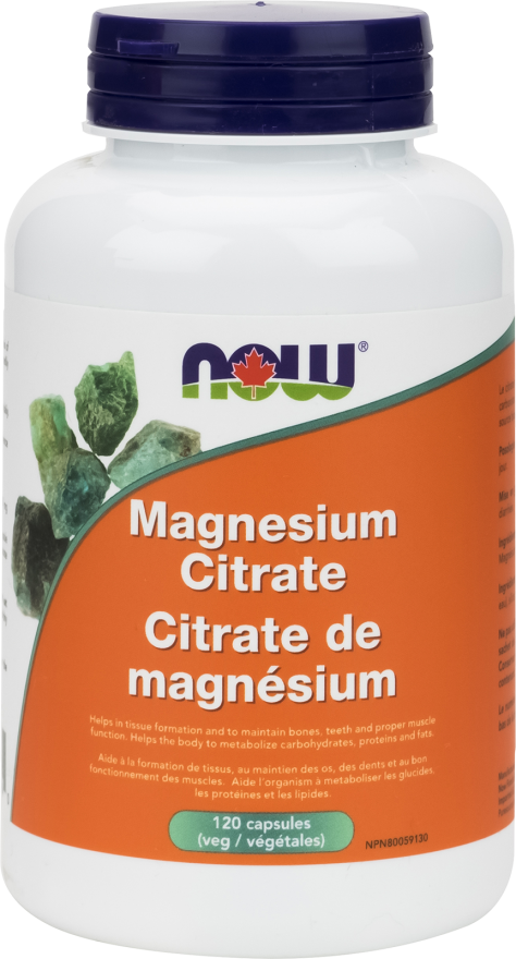Magnesium Citrate Capsule by Now