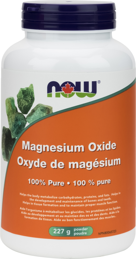 Magnesium Oxide Powder by Now