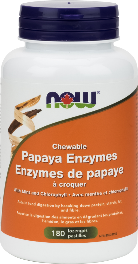 Papaya Enzymes Chews by Now