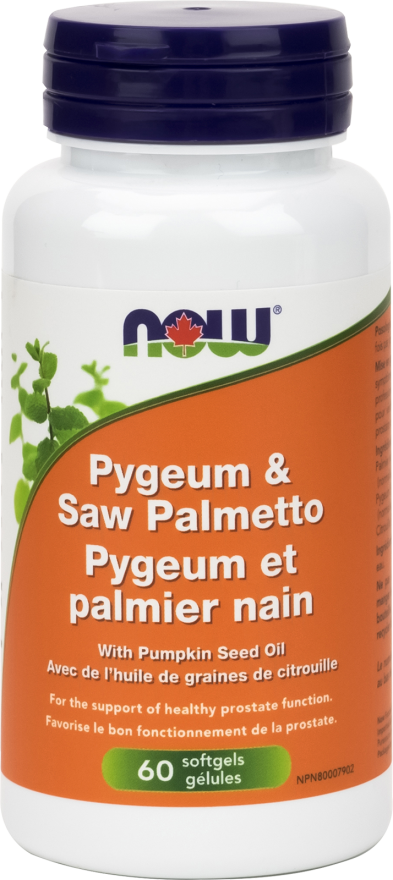 Pygeum & Saw Palmetto by Now