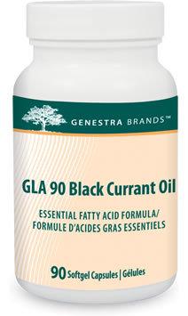 GLA 90 Black Currant Oil by Genestra