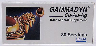 Gammadyn Cu-Au-Ag (Copper, Gold, Silver) by Unda
