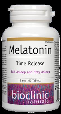 Melatonin Time Release by Bio Clinic