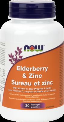 Elder-Zinc Lozenges by Now