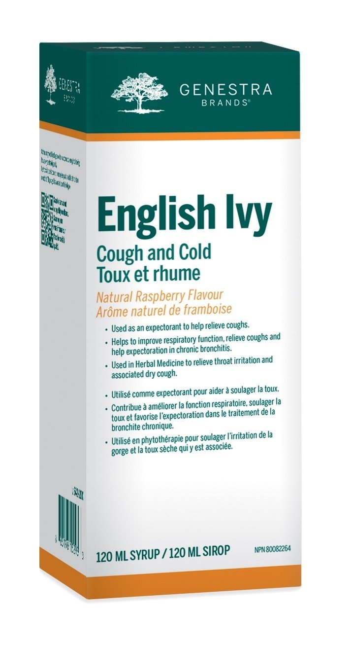 English Ivy (Adults or Kids) Cough and Cold
