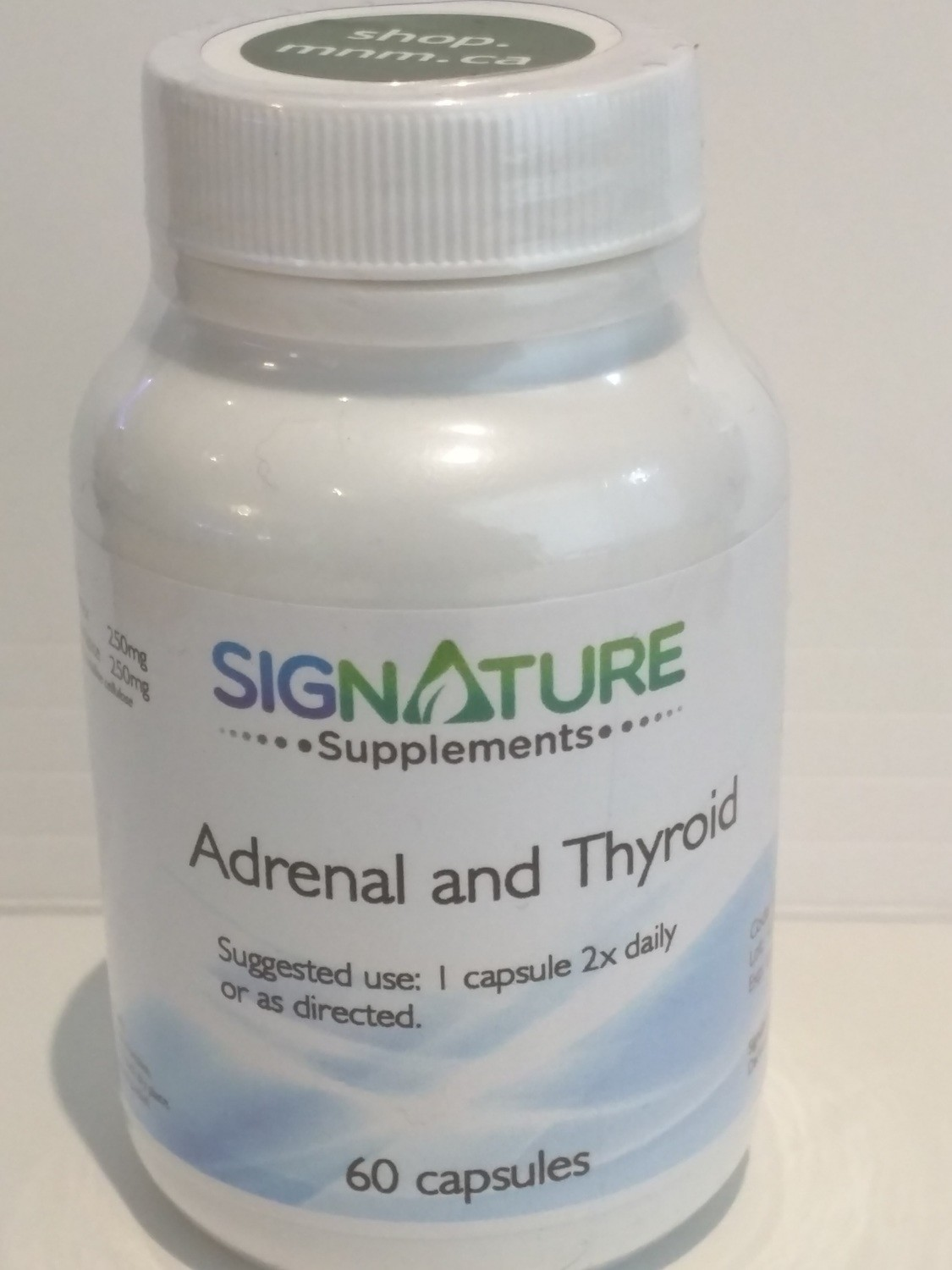 Adrenal and Thyroid (Prescription) by Signature Supplements