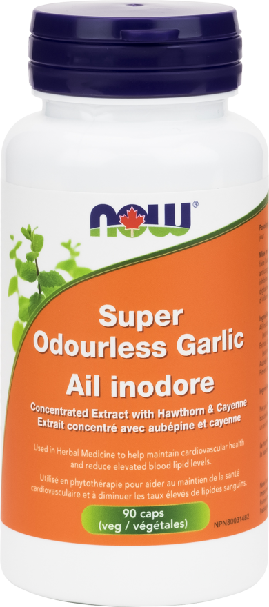 Super Odourless Garlic by Now