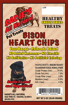 BISON HEART CHIPS