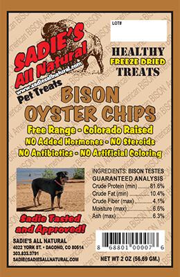 BISON OYSTER CHIPS
