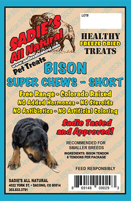 BISON SUPER CHEW - SHORT