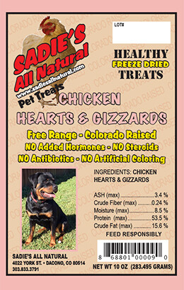 CHICKEN HEARTS AND GIZZARDS