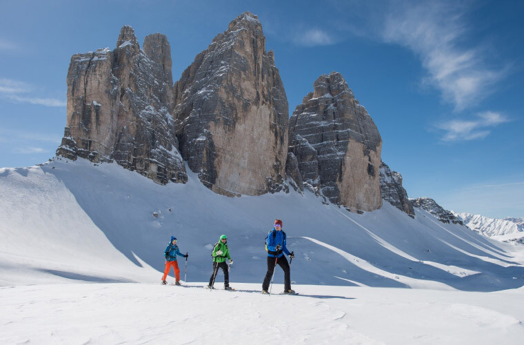 Dolomites Alta Via Snowshoe