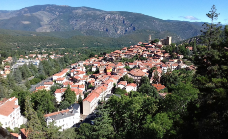 Pyrenees GR10 Stage 8 - Vernet-Les-Bains to Banyuls-sur-Mer