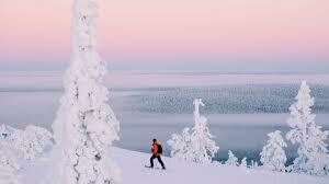 Learn to Cross Country Ski in Lapland