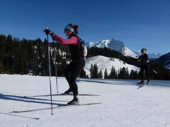 Learn to Skate Ski in Italy