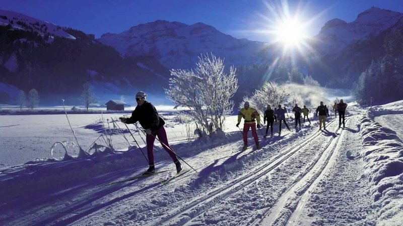 Learn to Cross Country Ski in Switzerland
