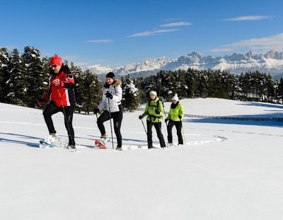 Italian Dolomites Snowshoe