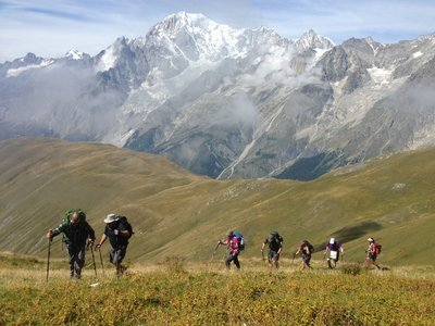 Courmayeur Day Hike Private Guiding