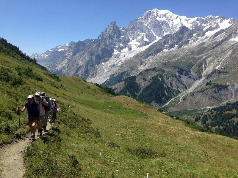 Tour du Mont Blanc Trek - Every Step