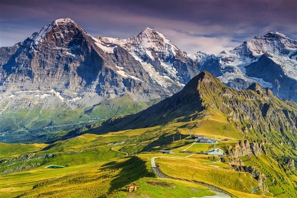 Swiss Via Alpina Trail