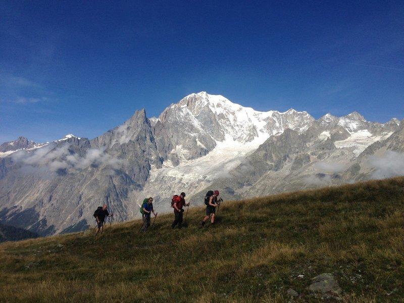 Deluxe Tour du Mont Blanc Trek