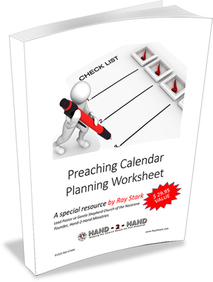 Preaching Calendar Planning Worksheet (Download)