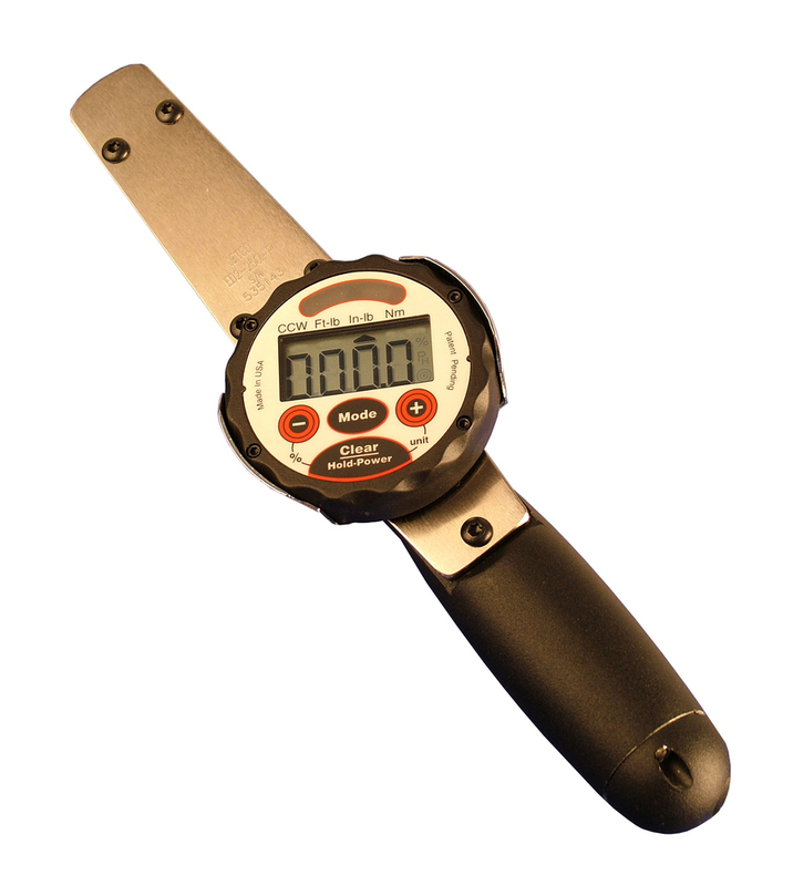 5-50 ft. lb., Rechargeable Electronic Dial Wrench