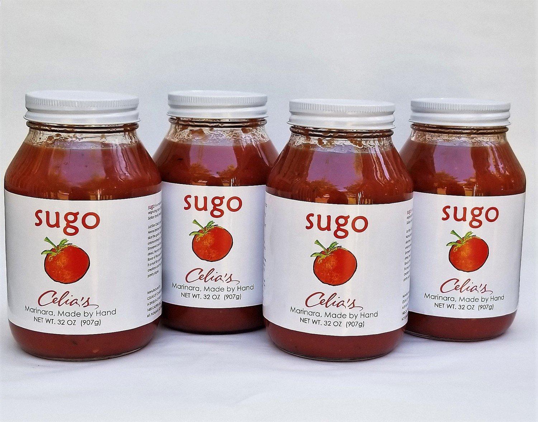SUGO Celia's Handmade Marinara Sauce 4 Pack
