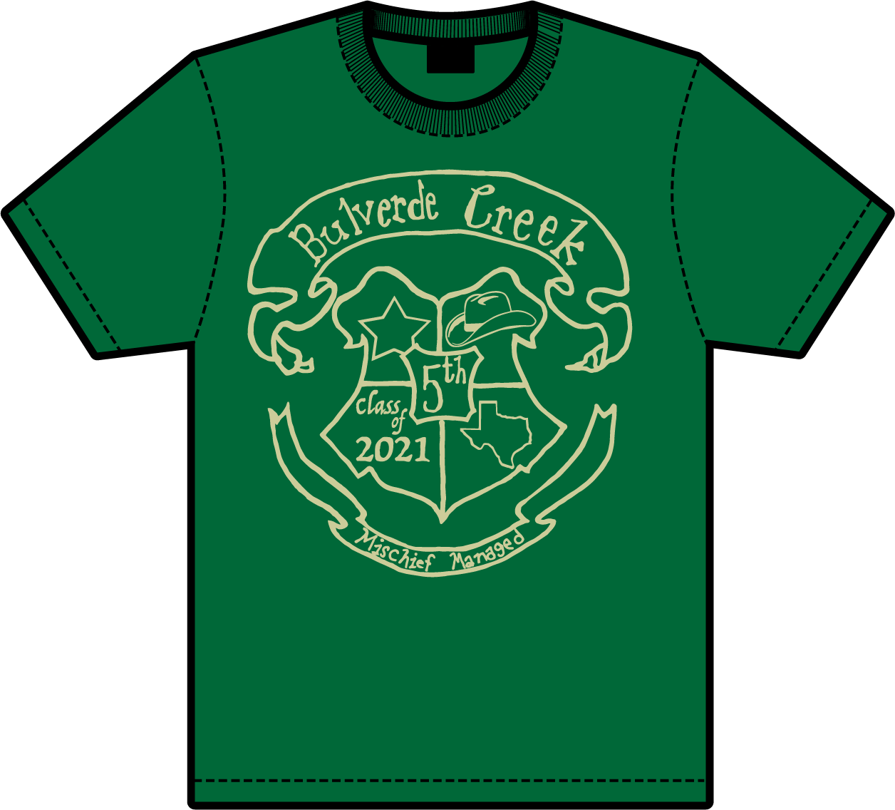 5th Grade Tshirt Donation