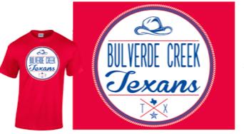 *Clearance* Red Circle Texans Spirit Shirt