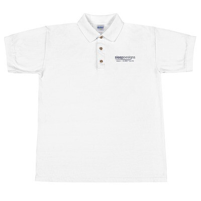 Sleep Designs Embroidered Polo Shirt