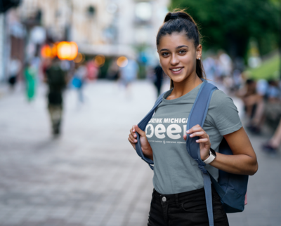 Drink Michigan Beer T-Shirt