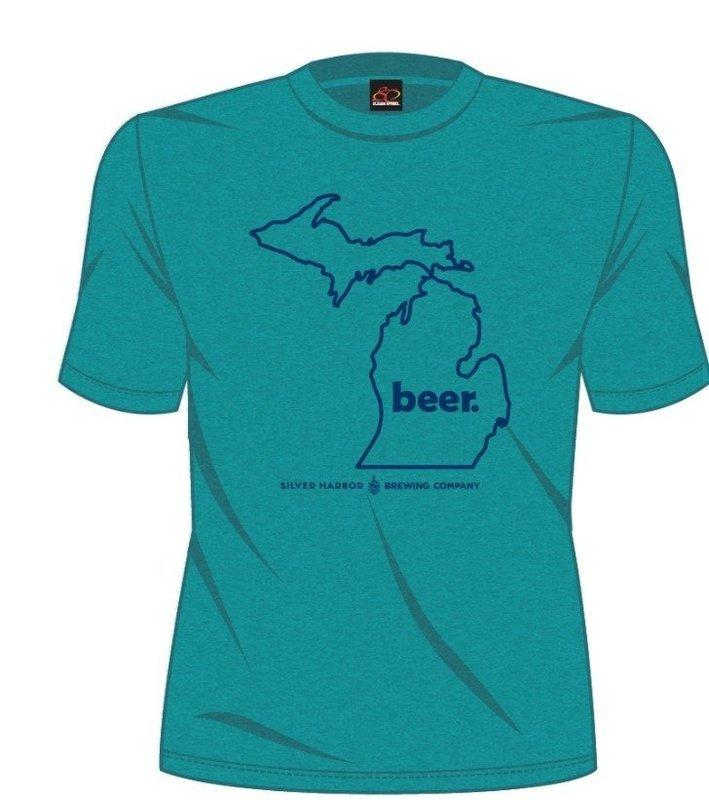 Michigan Beer State Tee