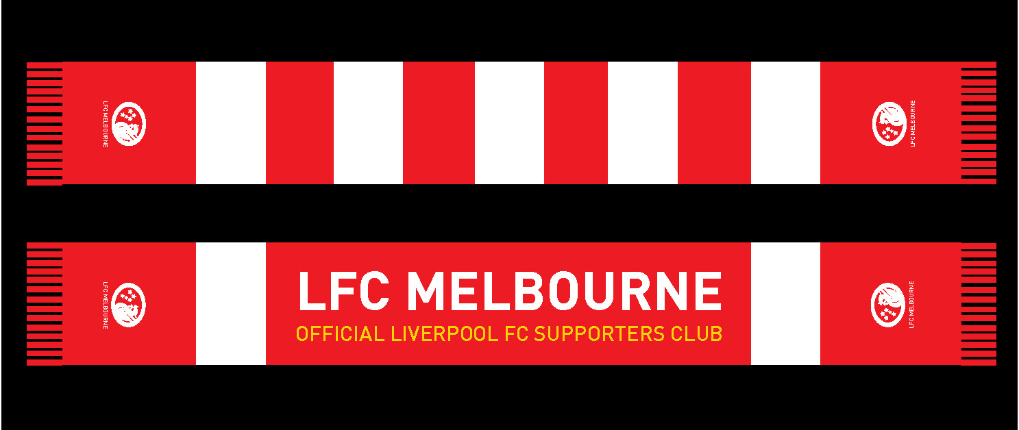 LFC Melbourne Supporters Club Scarf