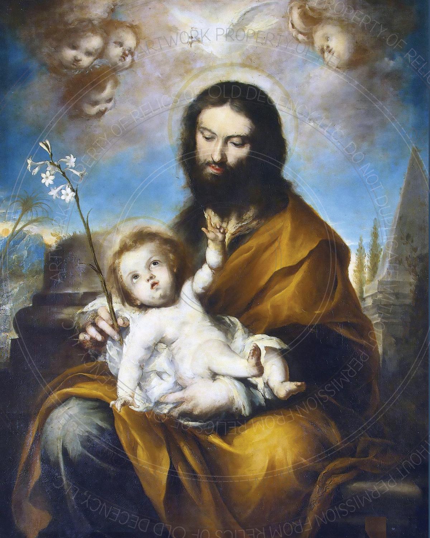 "8"" x 10"" Print -- St. Joseph (10100)"