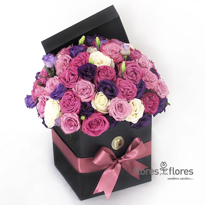 Bouquet Rosas Multicolor   NOCHE DE ROSAS