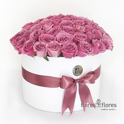 Bouquet Rosas Lavanda | HECHIZO