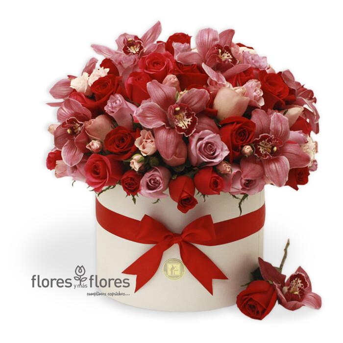 Arreglo Floral orquídeas y Rosas   MICHELLE