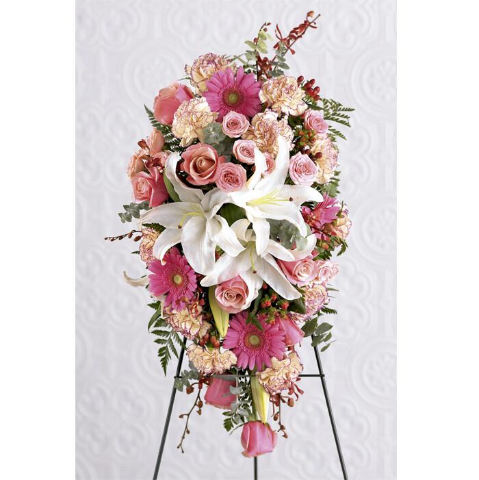 Medallón Floral Fúnebre |  PERDURACION G-0075