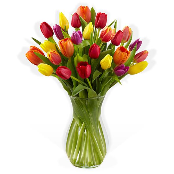 Arreglo Floral Tulipanes    CHIARA