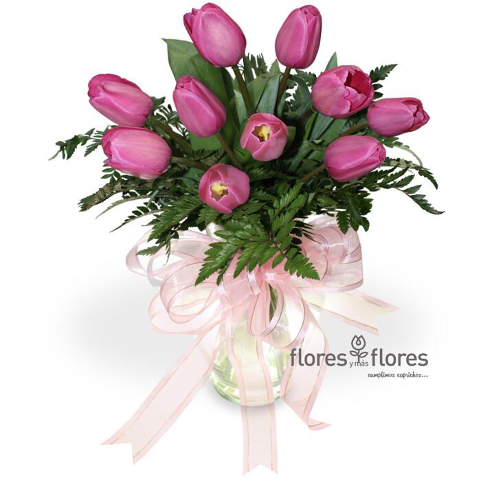 Arreglo Floral de Tulipanes   AMANECER